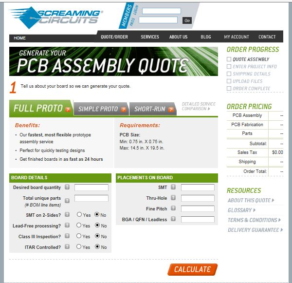 Screaming Circuits Screenshot CEO Photo Electronics Contract Manufacturing Assembly PCB EMS Outsourcing