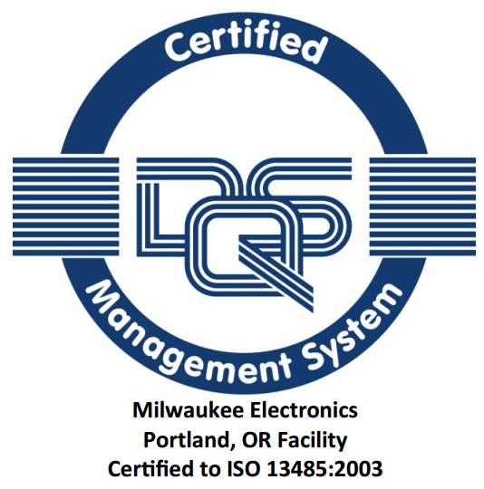Portland Facility Passes ISO 13485 Certification Audit | Milwaukee ...